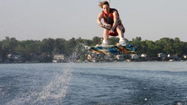 How to Get More Air When Wakeboarding?