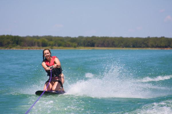 kneeboarding